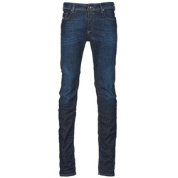 Clothing Men slim jeans Diesel SLEENKER Blue / Dark