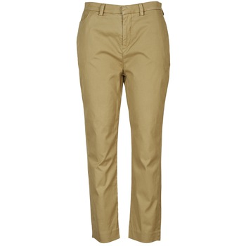 Clothing Women chinos Diesel P-RURI-B  COGNAC