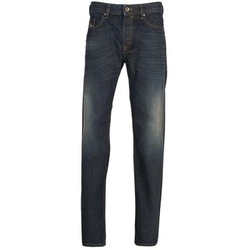 Clothing Men straight jeans Diesel BUSTER Blue / Dark