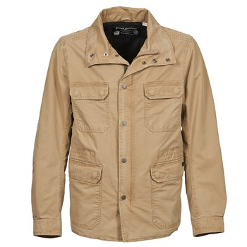 Clothing Men Jackets Diesel J-AMEDE BEIGE