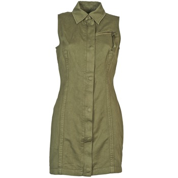 Clothing Women Short Dresses Diesel D-NAOMIE KAKI