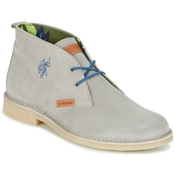 Shoes Men Mid boots U.S Polo Assn. AMADEUS Grey