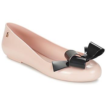 Shoes Women Flat shoes Melissa SPACE LOVE IV Pink / Black