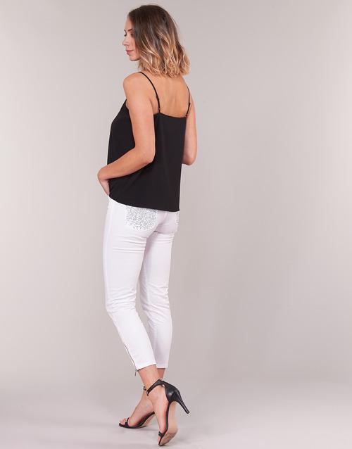 Gaudi PODALI White - Free delivery  ! - Clothing 3/4 & 7/8 jeans Women   48.00