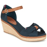 Shoes Women Sandals Tommy Hilfiger ELBA 40D MARINE