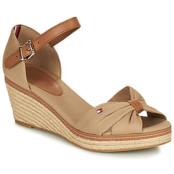 Shoes Women Sandals Tommy Hilfiger ELBA 40D Beige / Brown