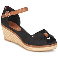 Shoes Women Sandals Tommy Hilfiger ELBA 40D Black / Brown