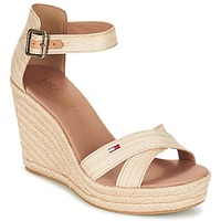 Shoes Women Sandals Tommy Hilfiger LUNA IDI Gold