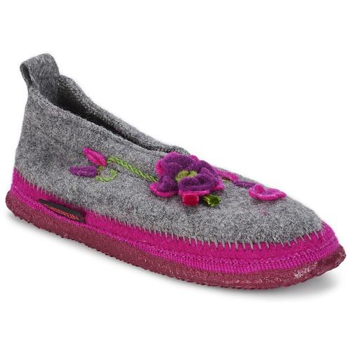 Shoes Women Slippers Giesswein TANGERHÜETTE Grey