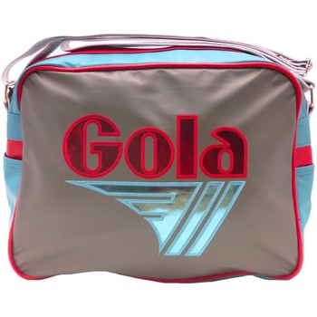 Messenger bags Gola redford mirror metal shiny blue, grey and red messenger bag new