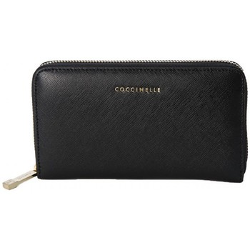 Bags Women Pouches / Clutches Coccinelle WALLET  BLACK    137,5