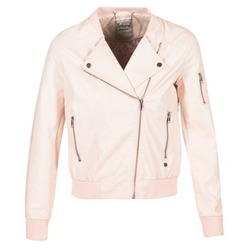 Clothing Women Leather jackets / Imitation leather Kaporal ALARE Nude