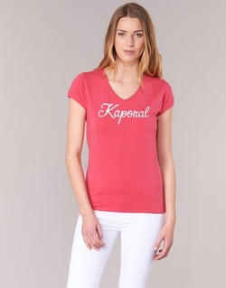 Clothing Women short-sleeved t-shirts Kaporal NIAM Pink