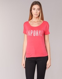 Clothing Women short-sleeved t-shirts Kaporal NIZA Pink