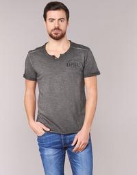 Clothing Men short-sleeved t-shirts Kaporal TOKOA Black