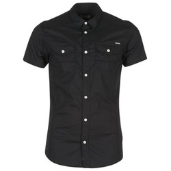 Clothing Men short-sleeved shirts Kaporal RAC Black
