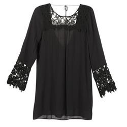 Clothing Women Short Dresses Billabong OPEN HORIZON DRESS Black
