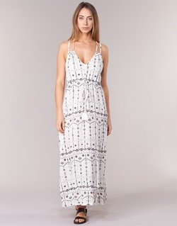 Clothing Women Long Dresses Billabong HAVE SUN ECRU