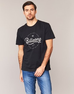 Clothing Men short-sleeved t-shirts Billabong OUTFIELD TEE SS Black