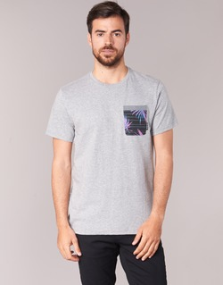 Clothing Men short-sleeved t-shirts Billabong TRANSMIT TEE Grey