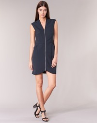 Clothing Women Short Dresses DDP DISTOULA Marine