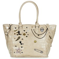 Bags Women Shopping Bags / Baskets Lollipops ZOLA SHOPPER BEIGE