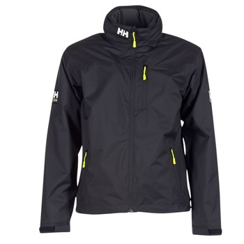 Clothing Men Jackets Helly Hansen HOODED CREW Black