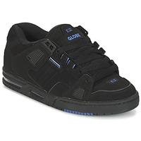Shoes Men Low top trainers Globe SABRE Black / Blue