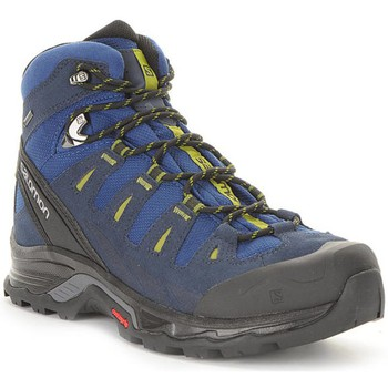 Shoes Men Walking shoes Salomon Quest Prime Gtx Black-Navy blue