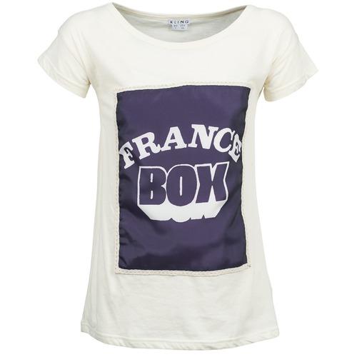 Clothing Women Short-sleeved t-shirts Kling WARHOL White
