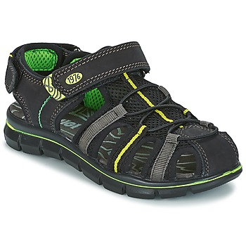 Shoes Boy Sandals Primigi TEVEZ Black / Green
