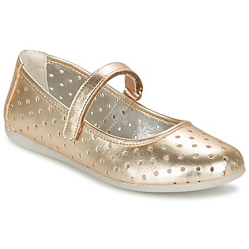 Shoes Girl Flat shoes Primigi FANTASY FLAT Gold