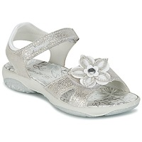 Shoes Girl Sandals Primigi BREEZOU Silver