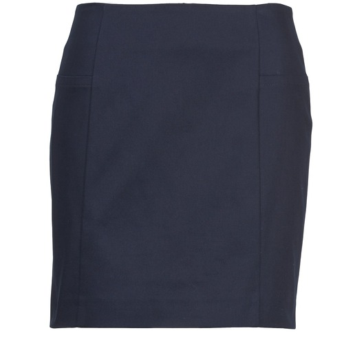 Clothing Women Skirts Gant ABERDEEN Marine