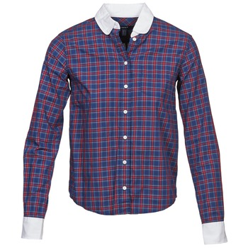 Clothing Women Shirts Gant STONEHAVEN MARINE / Red