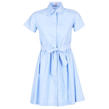 Clothing Women Short Dresses Compania Fantastica EBLEUETE Blue / SKY