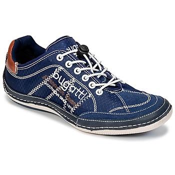 Shoes Men Low top trainers Bugatti LAMETE MARINE