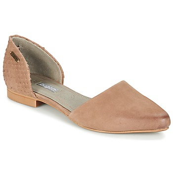 Shoes Women Flat shoes Bugatti GANOLETE TAUPE