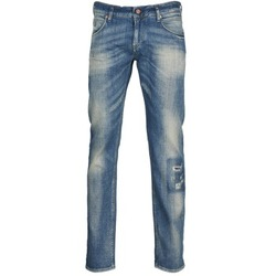 Clothing Men straight jeans Meltin'pot MARTIN Blue / Clear