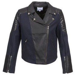 Clothing Women Jackets / Blazers Suncoo DARCY MARINE / Black