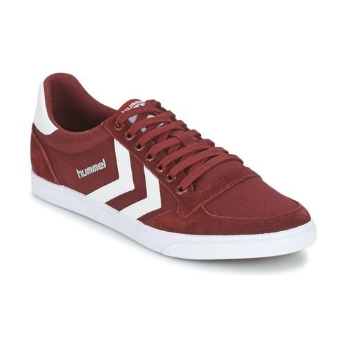 Shoes Low top trainers Hummel STADIL CANEVAS LOW Bordeaux