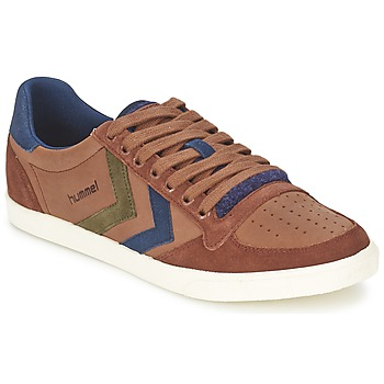 Shoes Low top trainers Hummel SLIMMER STADIL MIX LOW Friar Brown