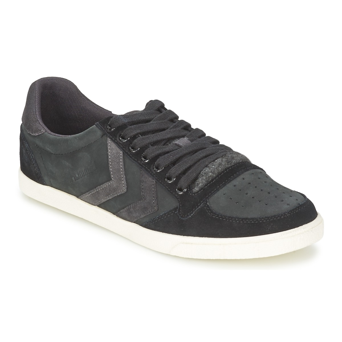 hummel slimmer stadil mix low black free delivery with spartoo uk shoes low top trainers. Black Bedroom Furniture Sets. Home Design Ideas
