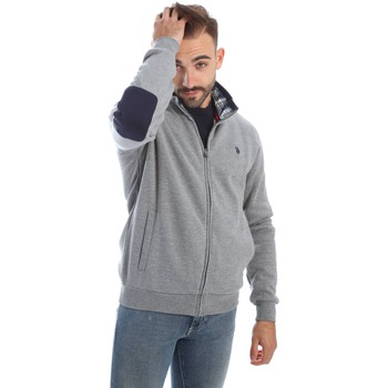 Clothing Men Jackets / Cardigans U.S Polo Assn. U.s. polo assn. 36136 49151 Sweatshirt Man Grigio