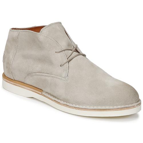 Shoes Women Mid boots Shabbies DRESCA Grey