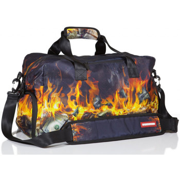 Bags Men Sports bags Sprayground Fire Money Duffel Bag Black