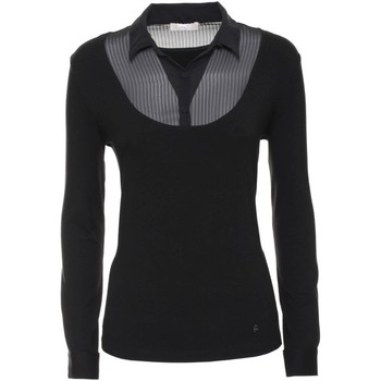 Clothing Women Jackets / Cardigans Nero Giardini A662230D T-shirt Women Black Black