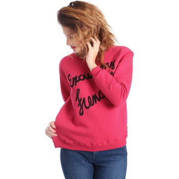 Clothing Women Jackets / Cardigans Animagemella 17AI078 Sweatshirt Women Fuchsia Fuchsia