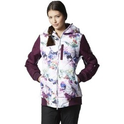 Clothing Women Jackets adidas Originals W Puffalicious Access 20 Burgundy