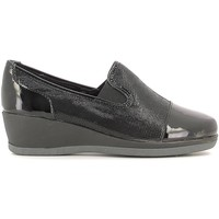 Shoes Women Loafers Grunland SC2329 Mocassins Women Black Black
